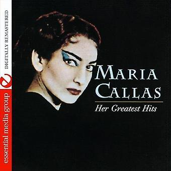 Maria Callas - Maria Callas: Her Greatest Hits [CD] USA import