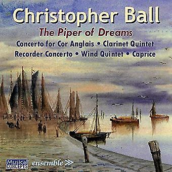 Boll / Arden-Taylor / Craven - Piper of Dreams (musik för blåsare) [CD] USA import