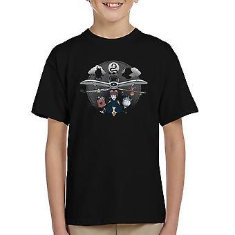 Flight Of Imagination Studio Ghibli børne T-Shirt