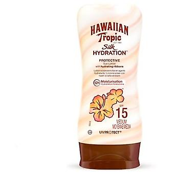 Hawaiian Tropic Silk Hydration Lotion Protective Sun Lotion Spf15 180 Ml