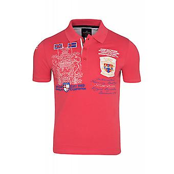 RUSTY NEAL royalty shirt men's Polo Shirt red R-6527