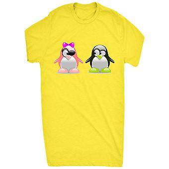 Berømte Cute pingviner i Love_vectorized