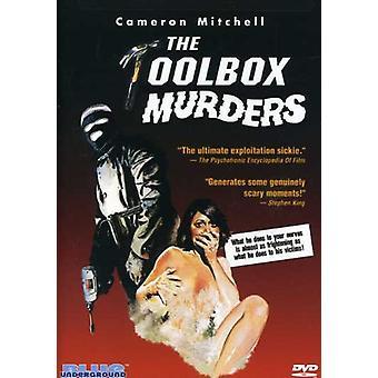 Værktøjskassen mord [DVD] USA importerer