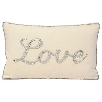 Riva Home Christmas Tide Love Cushion Cover