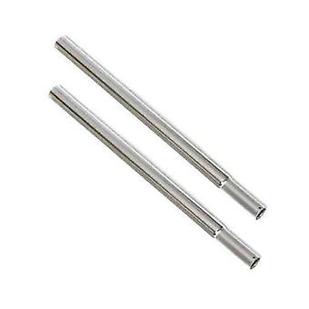 Pair of 38 cm (15in) Chrome Extension Pieces