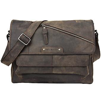 Greenburry Vintage Revival Vol.2 Leder Messenger A4 1951-22