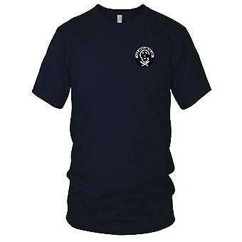 US Navy SS-209 USS Grayling Embroidered Patch - Mens T Shirt