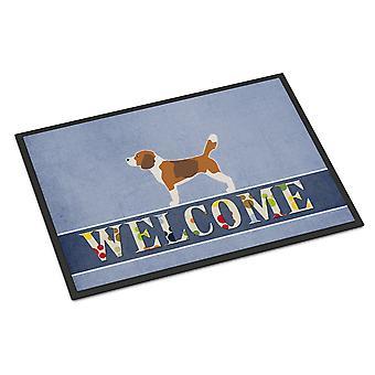 Carolines Treasures  BB5514MAT Beagle Welcome Indoor or Outdoor Mat 18x27