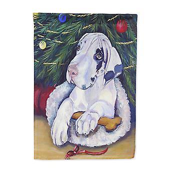 Каролинских сокровища родителей флаг-7172 Рождественская елка с флагом дог