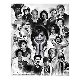 Great African Americans Women Poster Print by Wishum Gregory ( x 11)