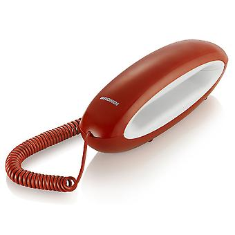 Brondi Tel phone fixed red DOLPHIN