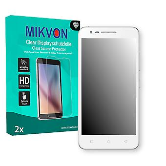 Lenovo C2 Screen Protector - Mikvon Clear (Retail Package with accessories)