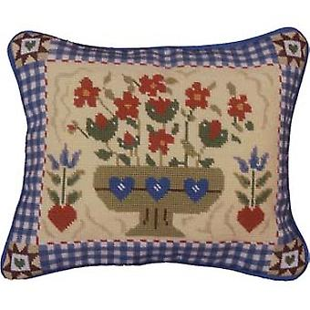 Shaker Flowers Needlepoint Kit