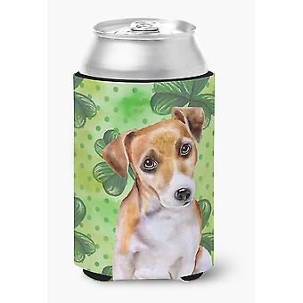 Jack Russell Terrier #2 St Patrick's Can or Bottle Hugger