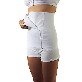 Underworks Post Delivery Abdominal Binder 12-inch with Velcro Closure