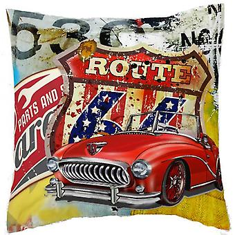 Wellindal Printed Cushion Cover Rebel Measures 50X50 Cm (Textile , Child's , Cushions)