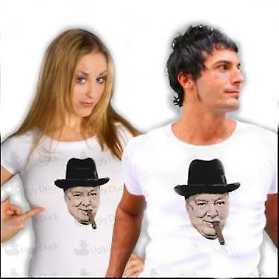 Mens T-shirt - Winston Churchill - WW2