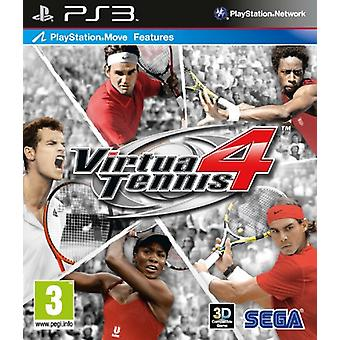 Virtua Tennis 4 (PS3) - Factory Sealed