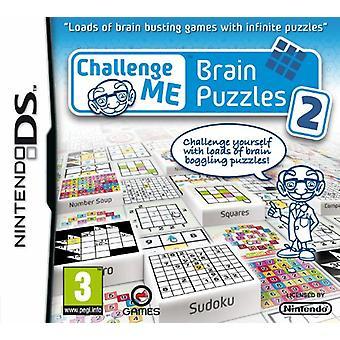 Challenge Me  Brain Puzzles 2 (Nintendo DS) - Factory Sealed