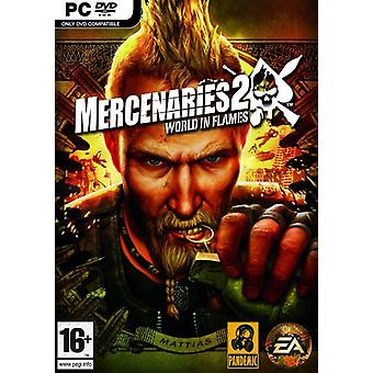 Mercenaries 2 verden i flammer (PC DVD)