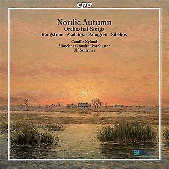 Madetoja/Rangstrom/Sibelius - importación de Estados Unidos nórdico otoño [CD]