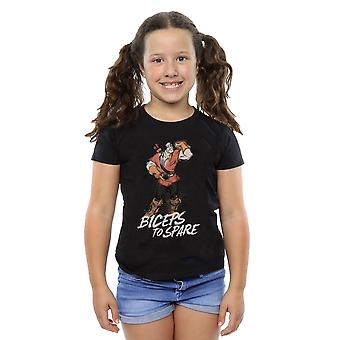 Disney Girls Beauty and the Beast Gaston Biceps To Spare T-Shirt