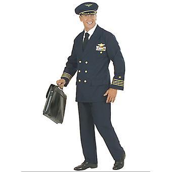 Pilot Costume Heavy Fab (Jacket Pants Hat)