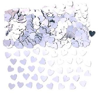 Confetti die zilveren hart - Buy 1 get 1 gratis