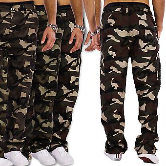 Men's cargo pants leisure pants Tarn Delta camouflage pattern stretchy stretch