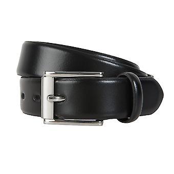 LLOYD Men's belt belts men's belts leather belt black 468