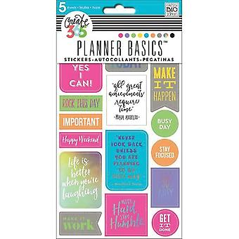 Create 365 Happy Planner Stickers 5/Sheets -Rock This Day, Neon