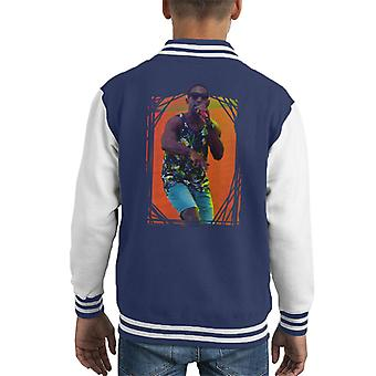 Tinie Tempah Live BBC Radio 1s groot Weekend 2014 Kid's Varsity Jacket