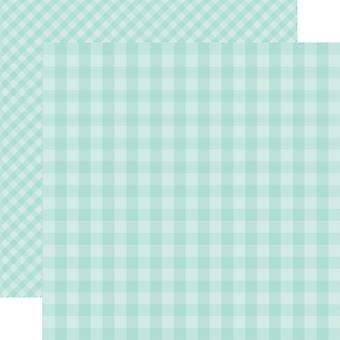 Echo Park Spring Gingham Double-Sided Cardstock 12