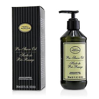 The Art Of Shaving Pre Shave Oil - Unscented (With Pump) - 240ml/8.1oz