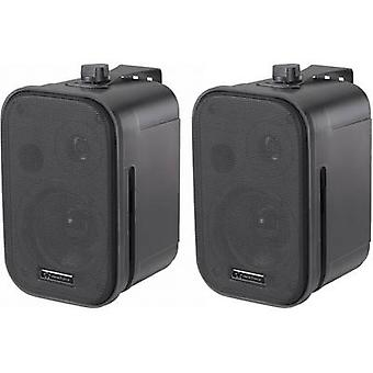Passive monitor speaker 9.3 cm 3.75  Renkforce Control 150 20 W 1 pair