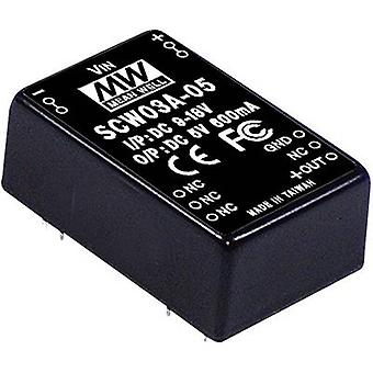 DC/DC-converter Mean Well SCW03B-05 600 mA