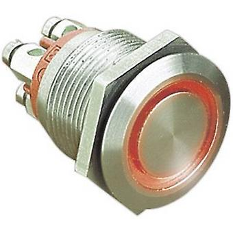 Bulgin MPI002/TERM/BL Tamper-proof pushbutton 24 Vdc 0.05 A 1 x Off/(On) IP66 momentary 1 pc(s)