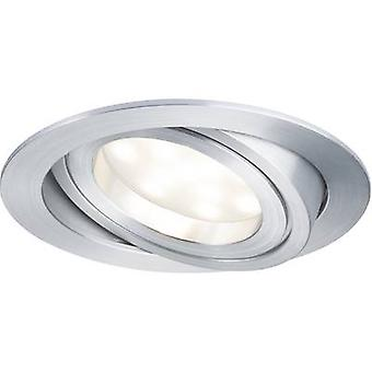 Paulmann Coin 92798 LED recessed light 6.8 W Warm white Aluminium