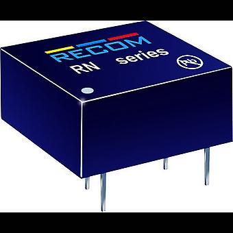 RN de RECOM-1212S/P 1.25W DC/DC convertidor RN-1212S/P 12 V 104 mA 1.25 W