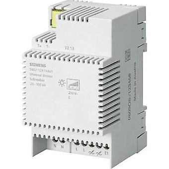 Siemens 5WG1528-1AB41 DIN-rail dimmer Suitable for light bulbs: Energy saving bulb, Light bulb, Halogen lamp, LED bulb, LED strip Grey