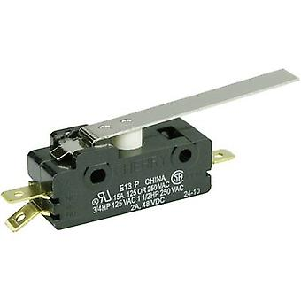 Cherry Switches Microswitch E13-00H 250 V AC 15 A 1 x On/(On) momentary 1 pc(s)