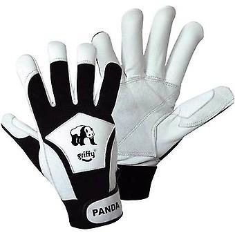 L+D Griffy 1730 Black, White Nappa leather and Spandex Panda 9 EN 388