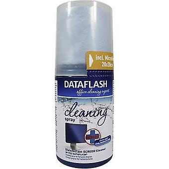 DataFlash TFT, LCD PC screen cleaner 200 ml incl. cleaning cloth DF1722 200 ml
