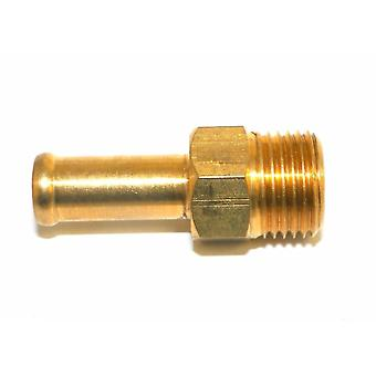 Big A Service Line 3-82166 Brass Hose Fitting Connector, 3/8