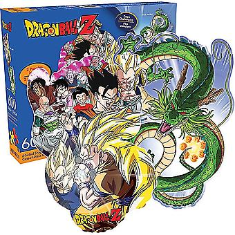 Dragon Ball Z Shaped 600 Piece Double Sided Jigsaw Puzzle 550Mm X 400Mm