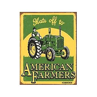 American Farmers Decorative Tin Sign