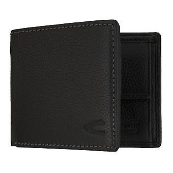 Camel active mens wallet wallet purse with RFID-chip protection black 7313
