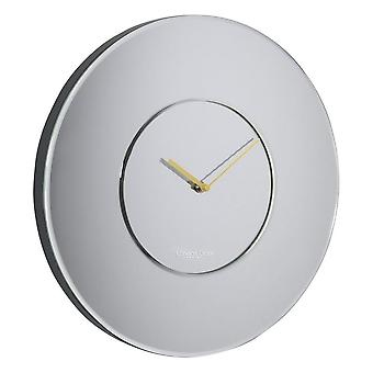 40 cm Round Mirrored Wall Clock