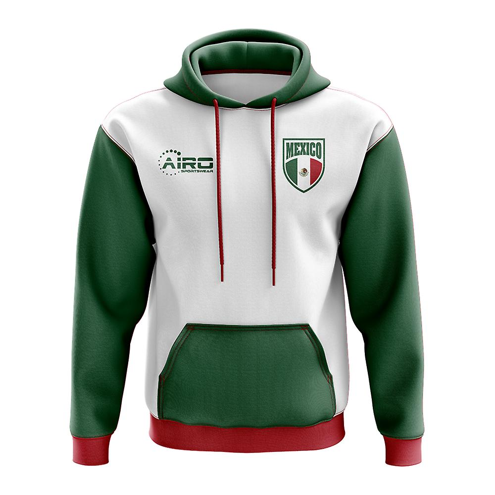 Mexico Concept Country Football Hoody (White)