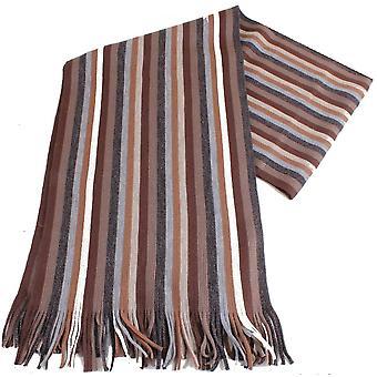 Foulard zébré de bassin et les jeunes brun - marron/gris/Beige